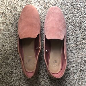 suede Gap loafers